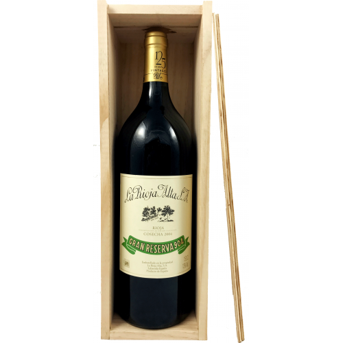 La Rioja Alta Gran Reserva 904 Magnum Caja Madera 2004